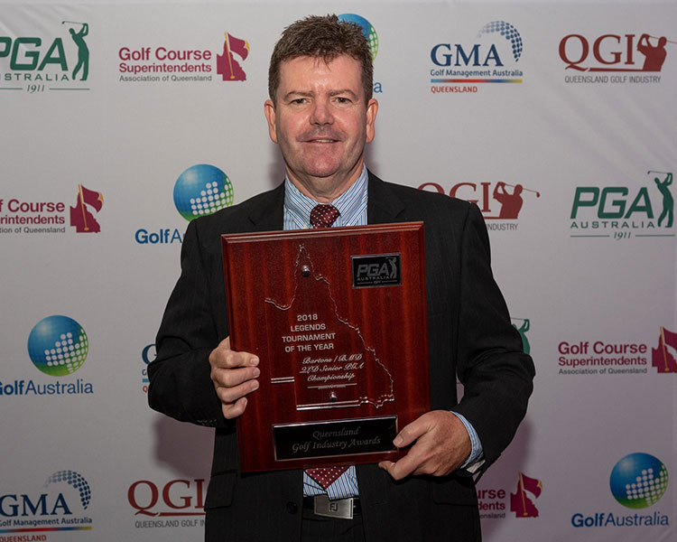 Golf Industry award